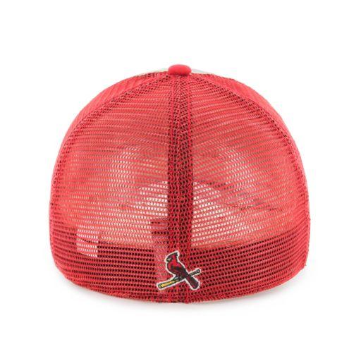 Adult '47 Brand St. Louis Cardinals Ravine Closer Storm Fitted Cap