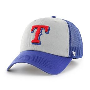 Adult '47 Brand Texas Rangers Ravine Closer Storm Fitted Cap