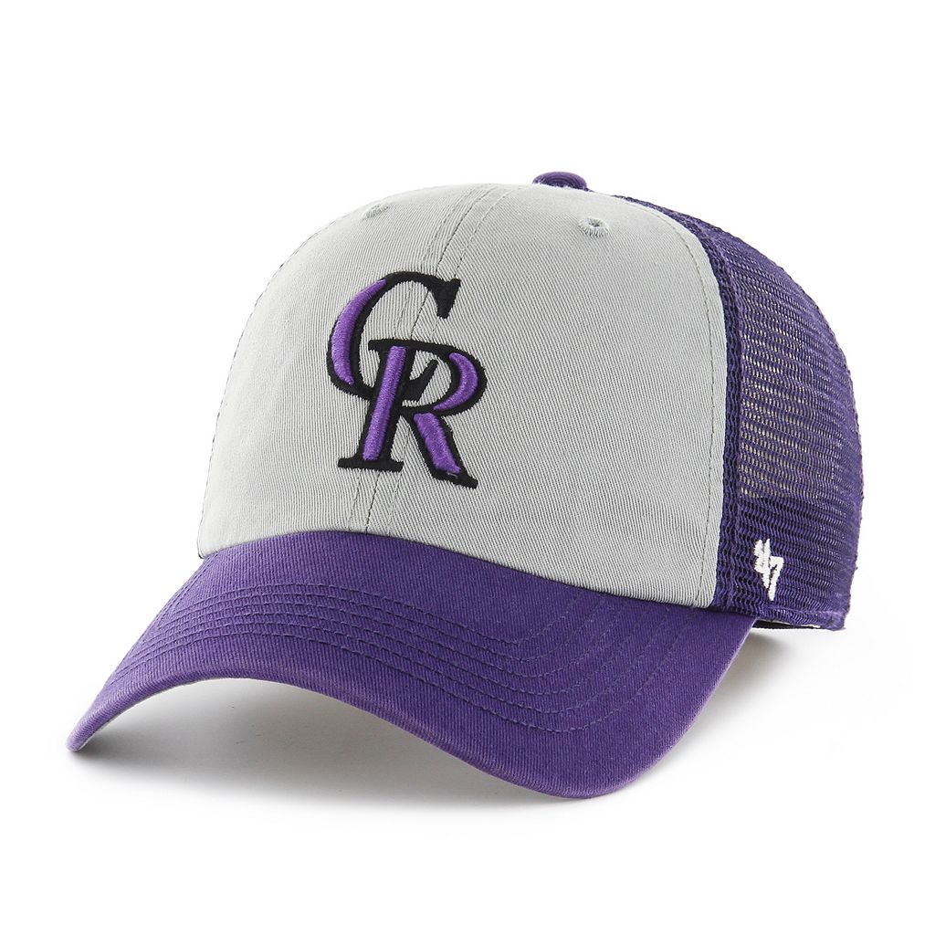 Adult '47 Brand Colorado Rockies Ravine Closer Storm Fitted Cap