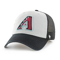 Adult '47 Brand Arizona Diamondbacks Ravine Closer Storm Fitted Cap