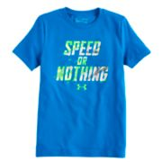 "Boys 8-20 Under Armour ""Speed Or Nothing"" Tee"