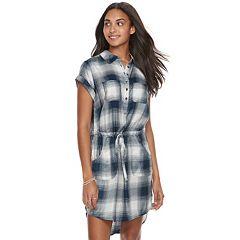 Women's SONOMA Goods for Life™ Plaid Shirtdress