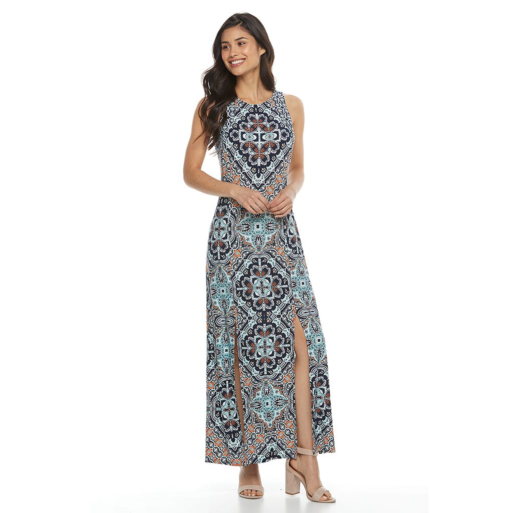 Petite Suite 7 Scroll Maxi Dress