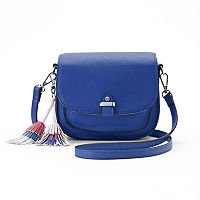 Candie's® Tassel Saddle Bag