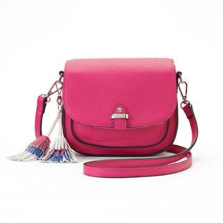 Candie's® Tassel Saddle Bag