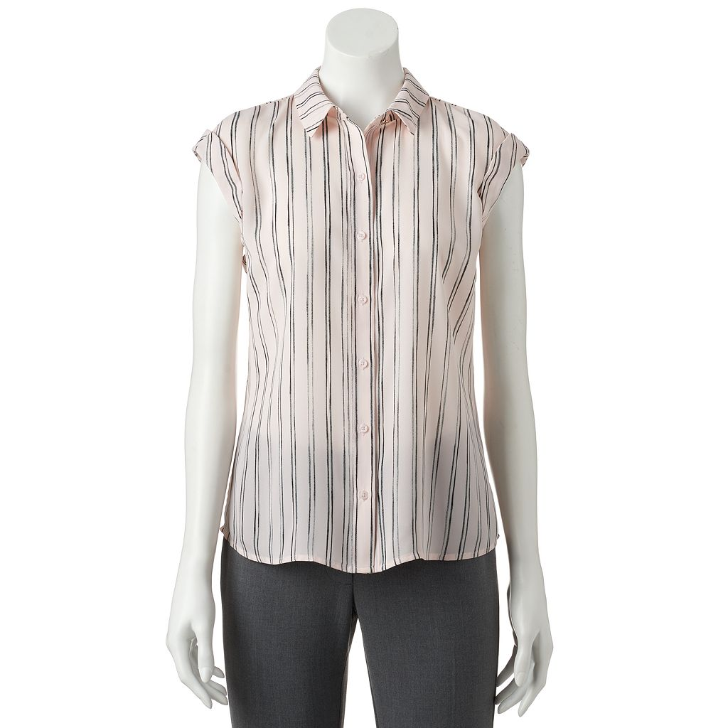 Women's Apt. 9® Roll Cuff Blouse