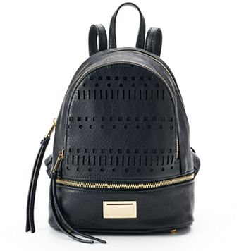 Juicy Couture Laser-Cut Dome Mini Backpack