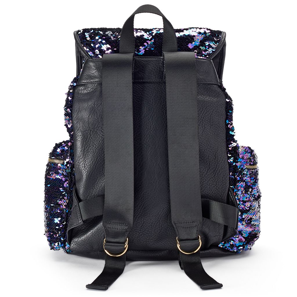 Juicy Couture Purple Sequin Backpack