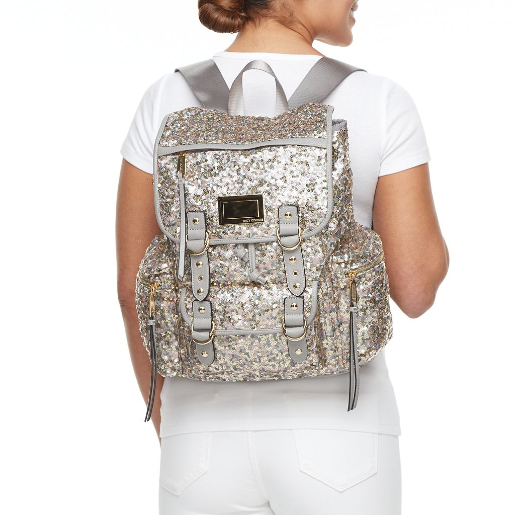 Juicy Couture Blush Sequin Backpack