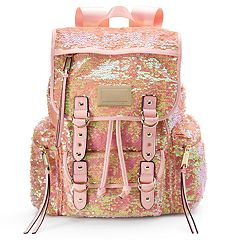 Juicy Couture Pink Sequin Backpack by