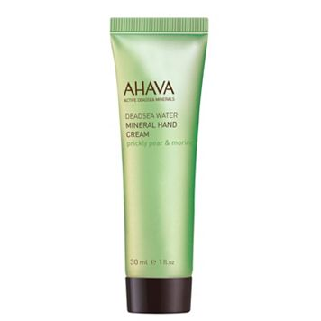 AHAVA Dead Sea Water Prickly Pear & Moringa Mineral Hand Cream - Travel Size