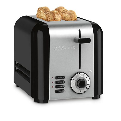 Cuisinart 2-Slice Compact Stainless Steel Toaster