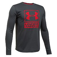 Boys 8-20 Under Armour Textured Tech Top