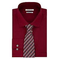 Men's Van Heusen Regular-Fit Flex Collar Dress Shirt & Tie