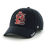Women's '47 Brand St. Louis Cardinals Sparkle Adjustable Cap