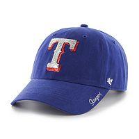 Women's '47 Brand Texas Rangers Sparkle Adjustable Cap