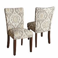 HomePop Suri Ikat Medallion Dining Chair 2 pc Set