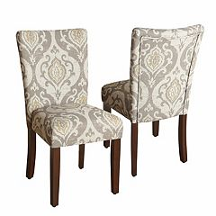 HomePop Suri Ikat Medallion Dining Chair 2-piece Set