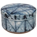 Creative Bath Shibori Ceramic Jar