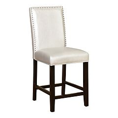 Linon Stewart Nailhead Counter Stool