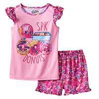 Girls 4-12 Shopkins D'lish Donut, Rolly Donut, Dolly Donut & Daisy Donut Pajama Set