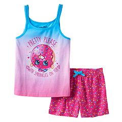 Girls 4-12 Shopkins D'Lish Donut 'Pretty Please With Sprinkles On Top' Pajama Set