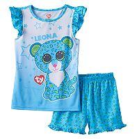 Girls 4-12 TY Beanie Boos Leona Pajama Set