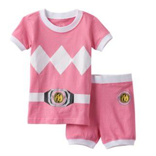 Girls 4-10 Power Rangers Pink Ranger Pajama Set