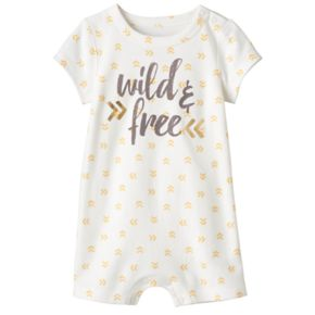Baby Jumping Beans® Foil Graphic Romper