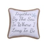 Levtex ''Together By The Sea'' Rope Throw Pillow