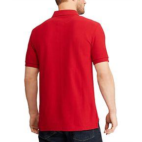 Men's Chaps Stretch Solid Pique Polo