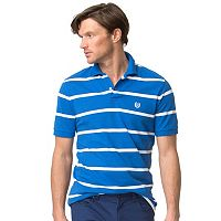 Men's Chaps Classic-Fit Striped Stretch Pique Polo