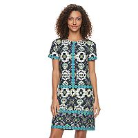 Women's Suite 7 Tile Shift Dress