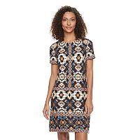 Women's Suite 7 Tile Shift Dress