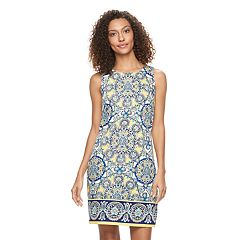 Women's Suite 7 Medallion Sheath Dress