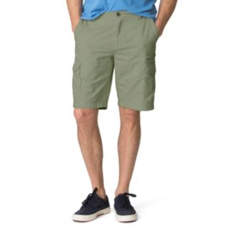 Men's Chaps Classic-Fit Textured Cargo Shorts