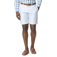 Men's Chaps Classic-Fit Oxford Flat-Front Shorts
