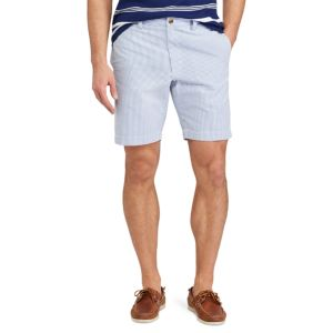 Men's Chaps Straight-Fit Seersucker Shorts