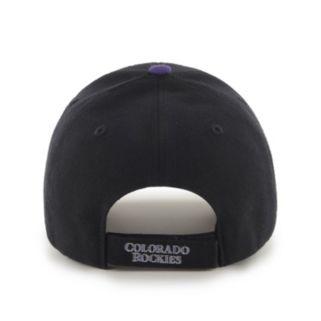 Adult '47 Brand Colorado Rockies MVP Adjustable Cap