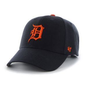 Adult '47 Brand Detroit Tigers MVP Adjustable Cap