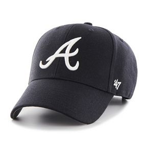 Adult '47 Brand Atlanta Braves MVP Adjustable Cap