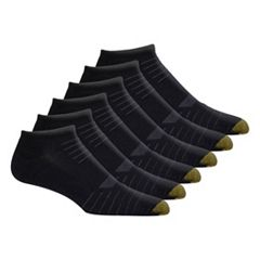 Men's GOLDTOE Tech No-Show 6-Pack Socks