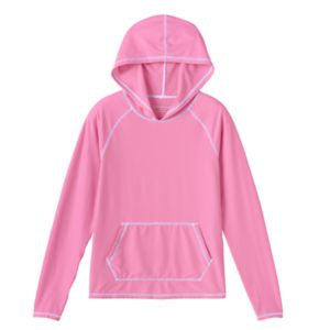 Girls 7-16 Free Country Long-Sleeved Swim Cover-Up