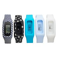 B-Fit Women's Activity Tracker & Interchangeable Band Set - BA2208BK607-078
