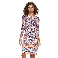 Women's Suite 7 Paisley Shift Dress