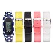 B-Fit Women's Activity Tracker & Interchangeable Band Set - BA2217BK607-078