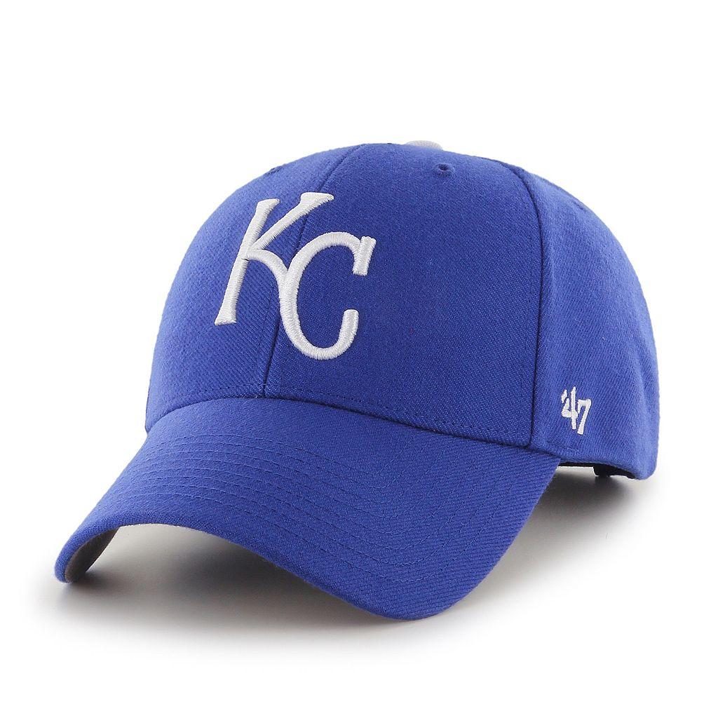 Adult '47 Brand Kansas City Royals MVP Adjustable Cap