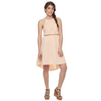 Juniors' Mudd® Halter Skater Dress