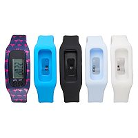 B-Fit Women's Activity Tracker & Interchangeable Band Set - BA2227BK607-078