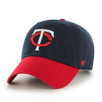 Adult '47 Brand Minnesota Twins Clean Up Adjustable Cap